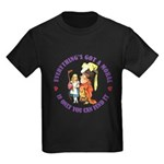Everything's Got a Moral Kids Dark T-Shirt