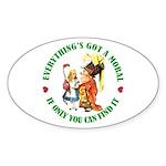 Everything's Got a Moral Sticker (Oval 50 pk)