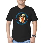 Everything's Got a Moral Men's Fitted T-Shirt (dar
