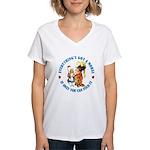 Everything's Got a Moral Women's V-Neck T-Shirt