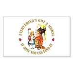 Everything's Got a Moral Sticker (Rectangle 10 pk)