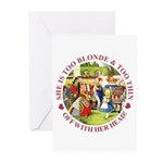 She is Too Blonde Greeting Cards (Pk of 20)