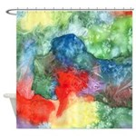 Breach of Containment Shower Curtain