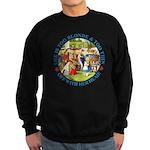 She is Too Blonde Sweatshirt (dark)