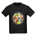 She is Too Blonde Kids Dark T-Shirt