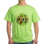 She is Too Blonde Green T-Shirt
