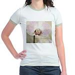 Pink Orchid Petal Jr. Ringer T-Shirt