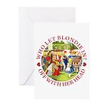 Who Let Blondie In? Greeting Cards (Pk of 10)