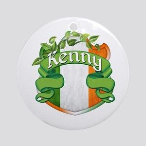 Kenny Shield Ornament (Round)