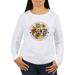 Who Let Blondie In? Women's Long Sleeve T-Shirt