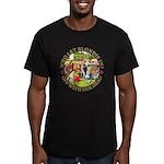 Who Let Blondie In? Men's Fitted T-Shirt (dark)