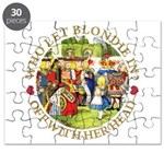 Who Let Blondie In? Puzzle