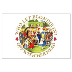 Who Let Blondie In? Posters