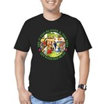 Who Let Blondie In? Men's Fitted T-Shirt (dark)