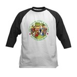 Who Let Blondie In? Kids Baseball Jersey