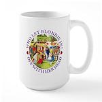 Who Let Blondie In? Large Mug