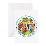 Who Let Blondie In? Greeting Cards (Pk of 20)