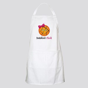 Pink Basketball Chick Apron