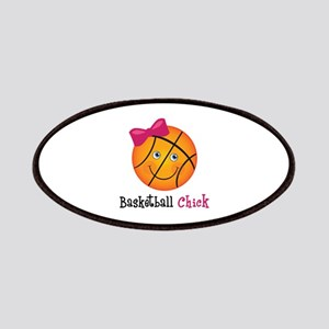 Pink Basketball Chick Patches