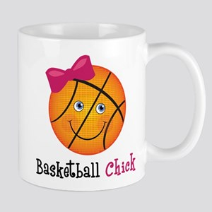 Pink Basketball Chick Mug