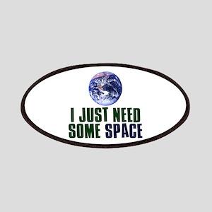 Astronaut Humor Patches