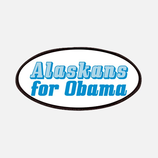 Alaskans for Obama Patches