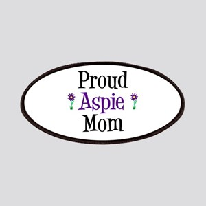 Proud Aspie Mom Patches