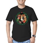 In This Crazy Place Men's Fitted T-Shirt (dark)