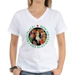 In This Crazy Place Women's V-Neck T-Shirt
