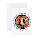 In This Crazy Place Greeting Cards (Pk of 20)