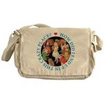 In This Crazy Place Messenger Bag
