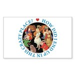 In This Crazy Place Sticker (Rectangle 50 pk)