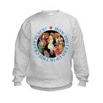 In This Crazy Place Kids Sweatshirt