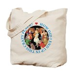 In This Crazy Place Tote Bag