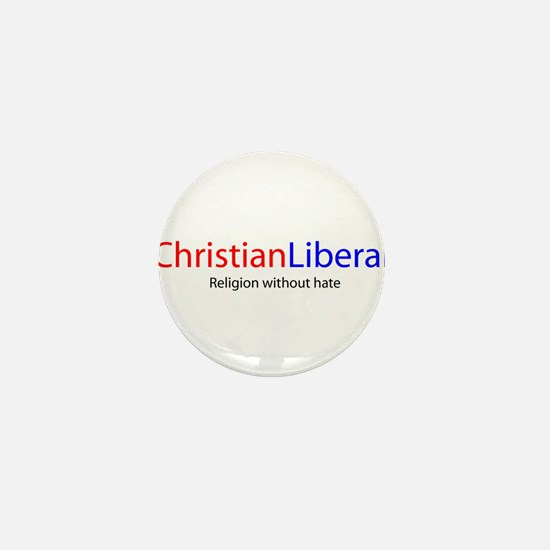 Cute Christian democrat Mini Button