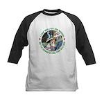 I Knew Who I Was Kids Baseball Jersey