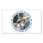 I Knew Who I Was Sticker (Rectangle 10 pk)