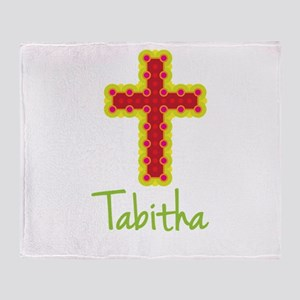 Tabitha Bubble Cross Throw Blanket