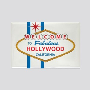 Welcome to Hollywood Rectangle Magnet