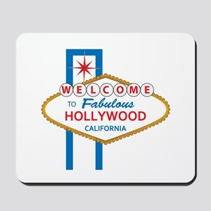 Welcome to Hollywood Mousepad