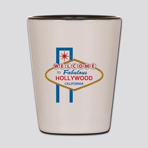 Welcome to Hollywood Shot Glass