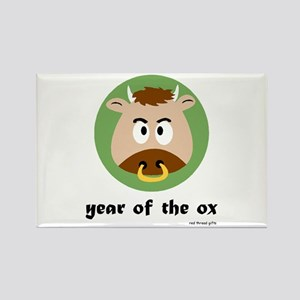 Year of the Ox (kids) Rectangle Magnet