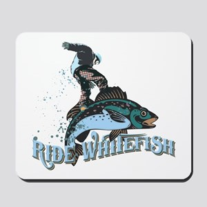 Ride Whitefish Mousepad