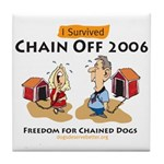 Chain Off 2006: Freedom for C Tile Coaster
