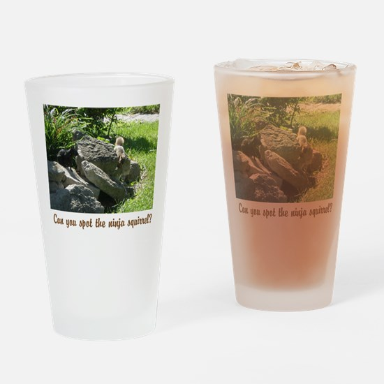 creatures Drinking Glass