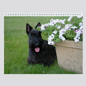 Dugan And Friends Scottie 2015 Wall Calendar