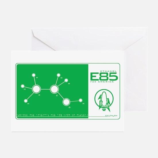 E85 Ethanol Greeting Cards (Pk of 10)