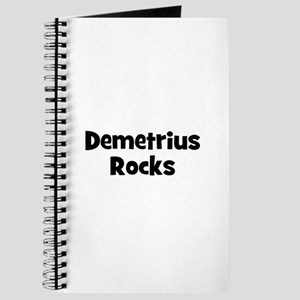 Demetrius Rocks Journal