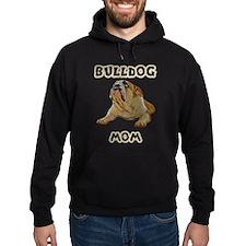 Bulldog Mom Hoodie (dark)