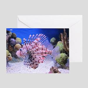 SALT WATER FISH Greeting Card
